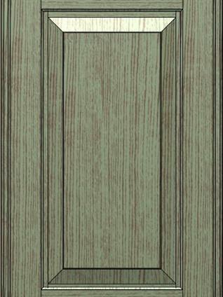BALTIMORA Antique Green Oak