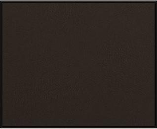 EXCLUSIVA Leather Top Ebony