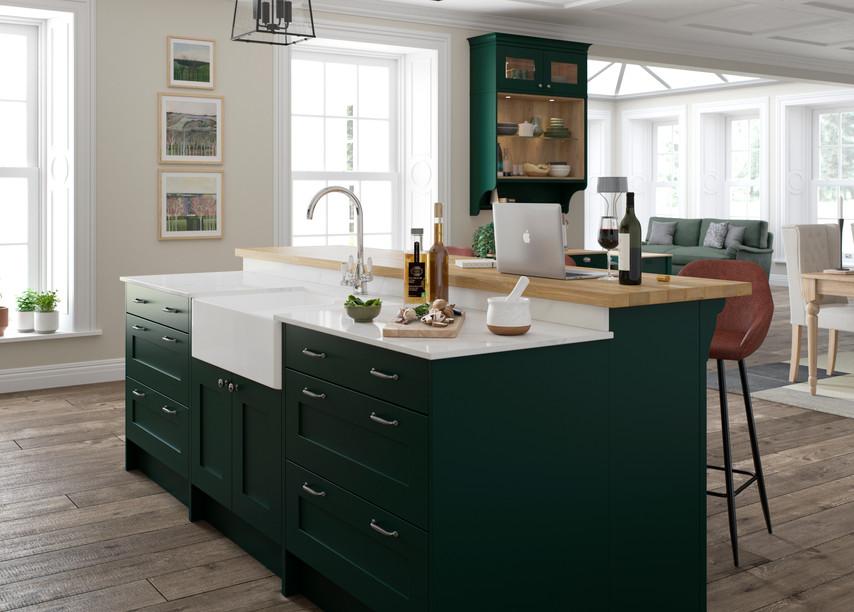 Marlborough Hunter Green Farringdon Grey