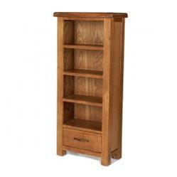 Earlswood Oak Petite CD/DVD Cabinet