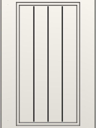 Colony Slatted Frame Lacquer Sand