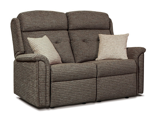 Sherborne Roma Small Fabric Fixed 2-Seater Settee
