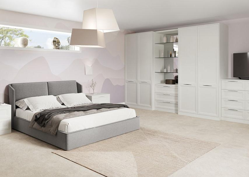 Rimano Bedroom Stone White