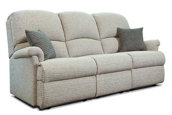 Sherborne Nevada Small Fabric Fixed 3-Seater Settee