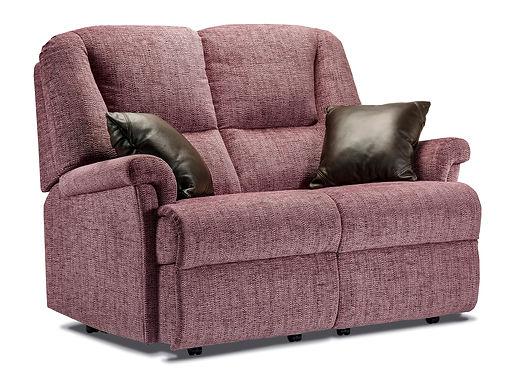 Sherborne Milburn Fabric Fixed 2-Seater Settee