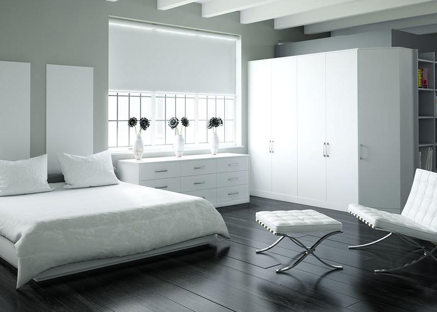 Zeluso Bedroom White