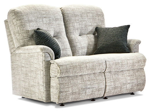 Sherborne Lincoln Small Fabric Fixed 2-Seater Settee