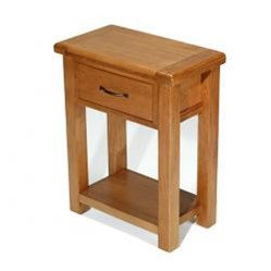 Earlswood Oak Small Hall Table