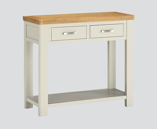Andorra Painted Two Drawer Console