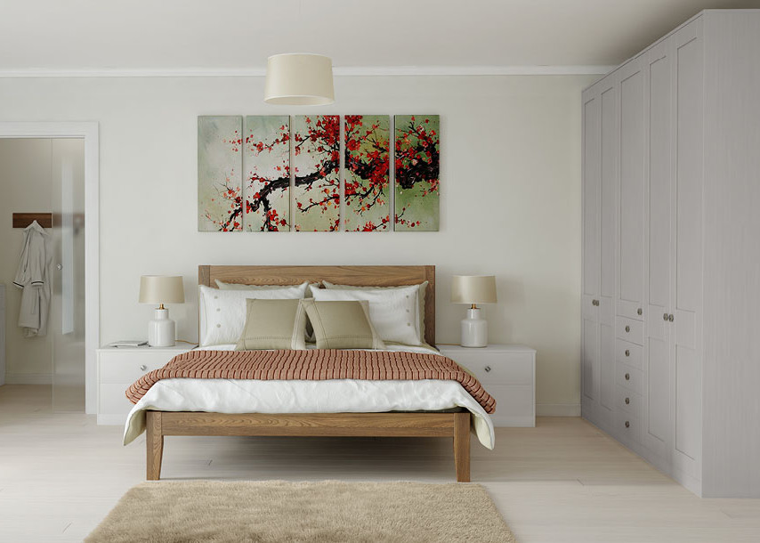 Midsomer Bedroom Pale Grey