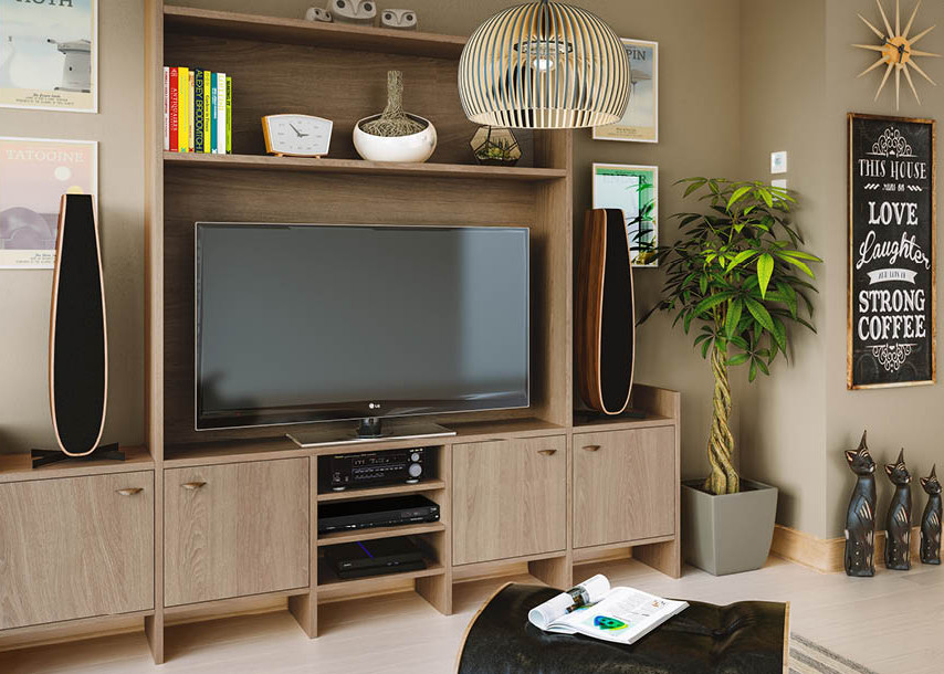 Textura Bedroom Halifax Oak Living Room