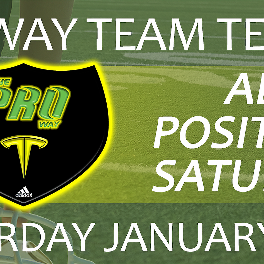 THE PROWAY TEAM TEMPO ALL POSITIONS SATURDAY