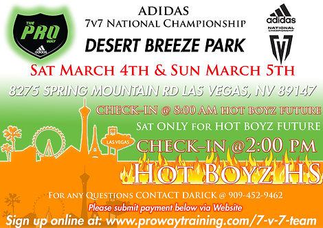 Adidas National Championship