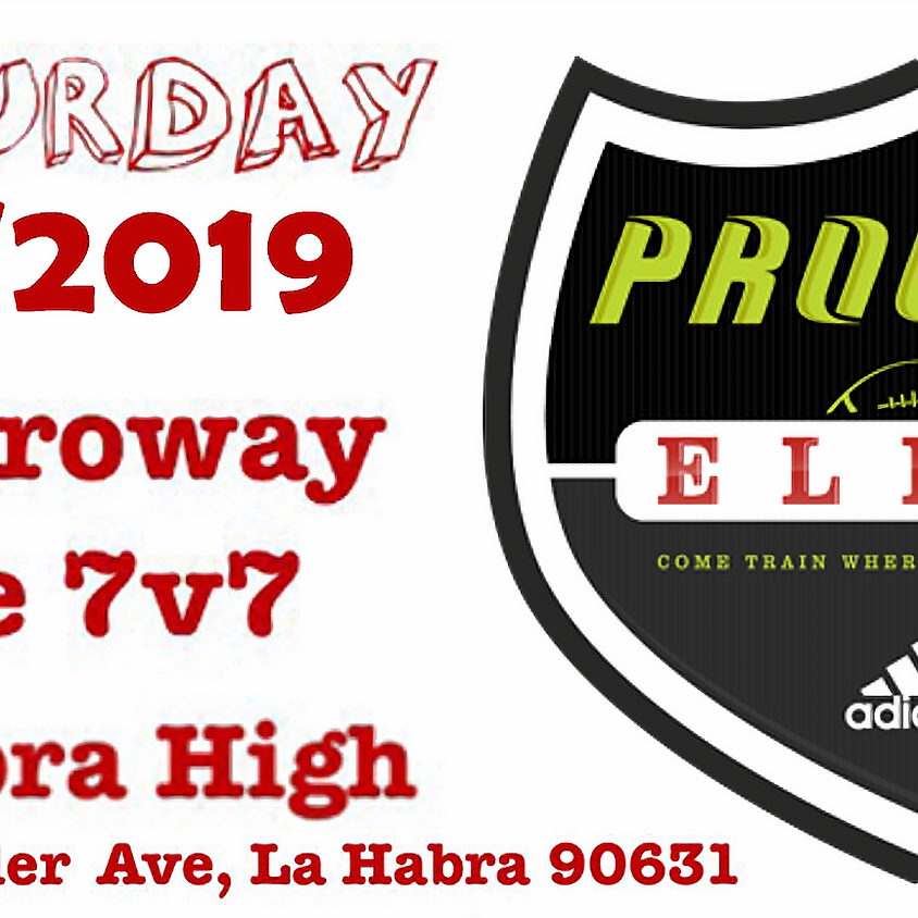 The Proway Elite All Positions Saturday Jan 19th