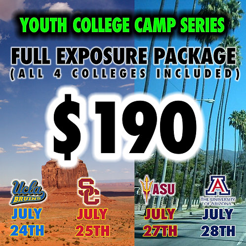 FULL EXPOSURE PACKAGE  (ALL 4 COLLEGES INCLUDED)