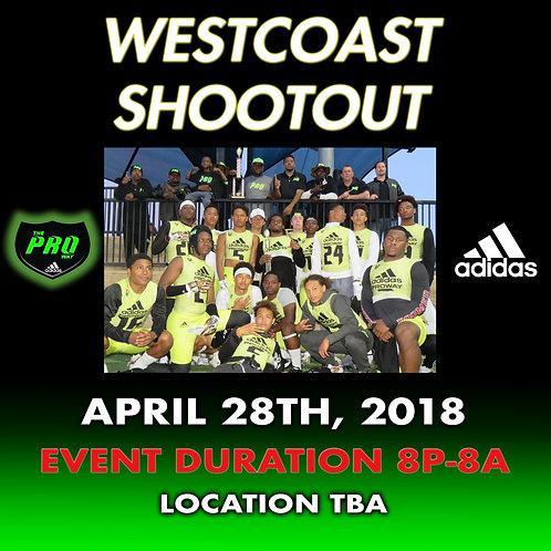 WEST COAST SHOOTOUT 7V7 TOURNAMENT FEE