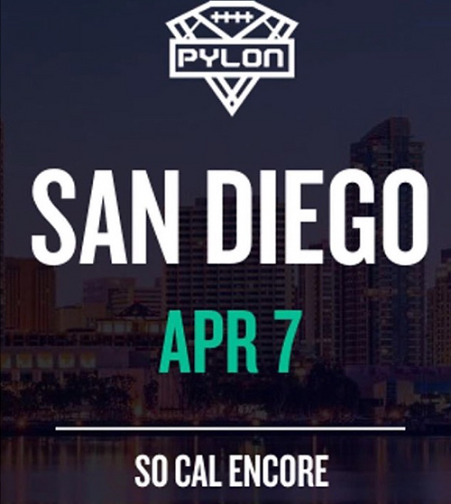 Pylon San Diego April 7th 2018
