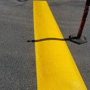 If traffic paint would only stay clean a