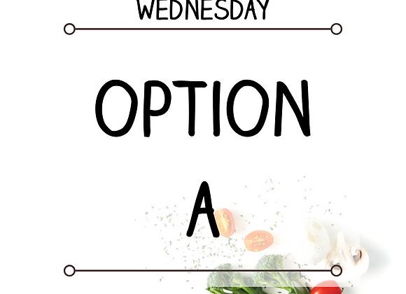 Wednesday-Option A