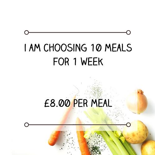 10 Meals 1 Week