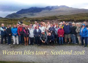 Western Isles tour