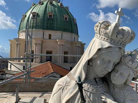 Restauro Basilica dell'Incoronata Madre del Buon Consiglio