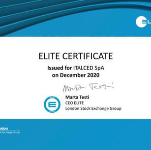 Certificato ELITE Borsa Italiana