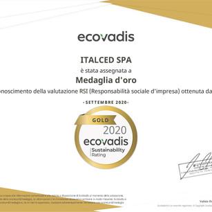 ECOVADIS CSR GOLD
