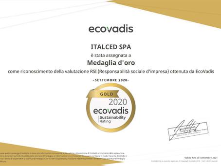 ECOVADIS Gold per la ITALCED S.p.A.