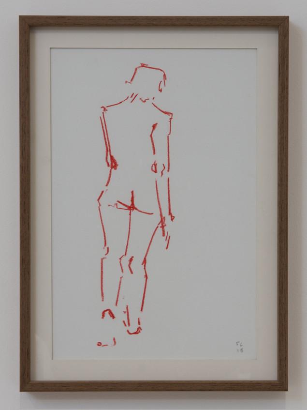 WALKING IN RED - £95