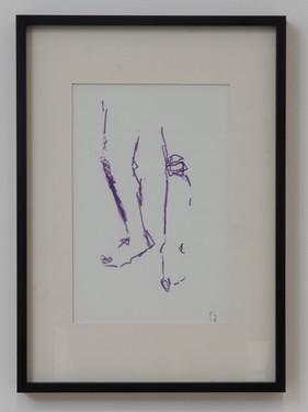 KNEES IN PURPLE - £95