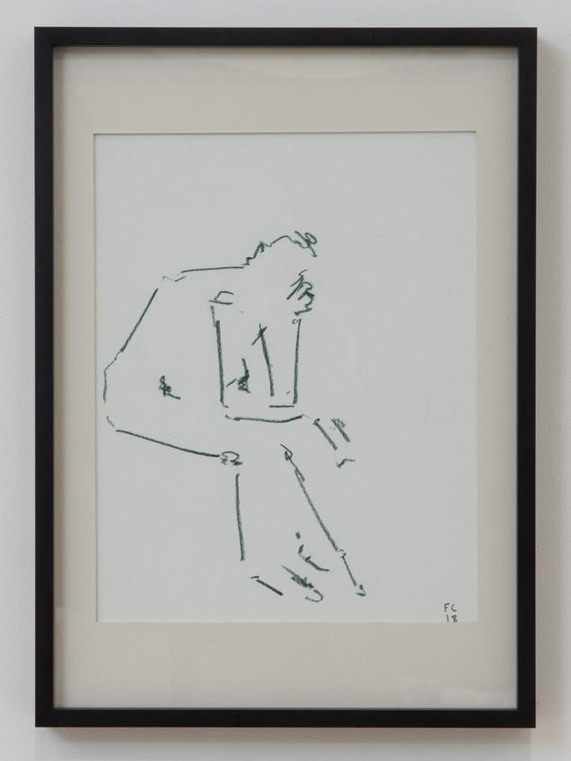 THINKER IN GREEN - £95