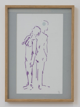 THE COUPLE IN PURPLE - £95