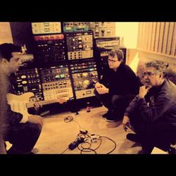 Workrking on Corazón 2012