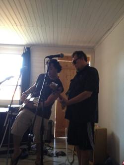 Texas Cannonball rehearsal