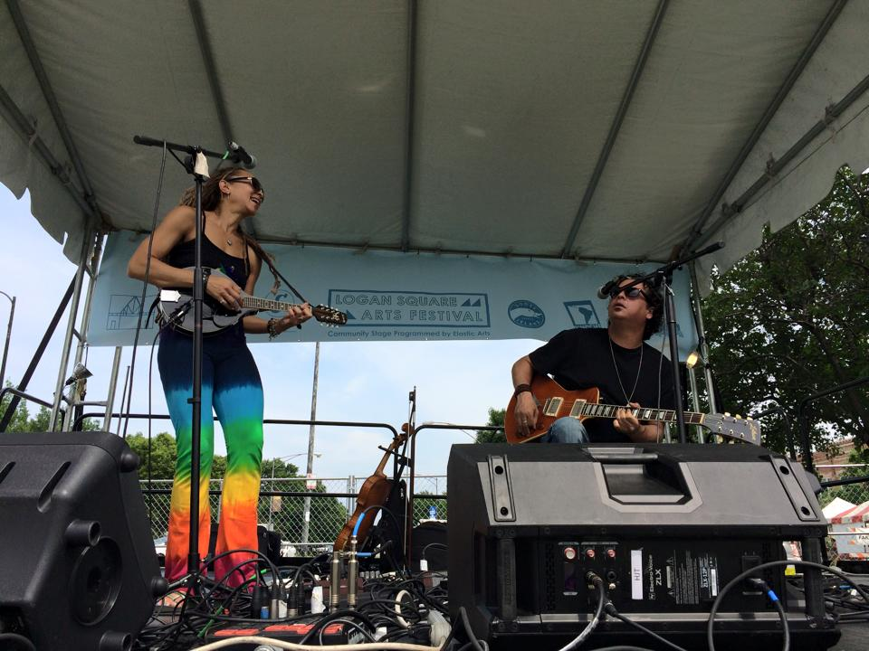 Logan Square Arts Fest 2015