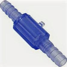 Westmed 0590 Sauerstoff-Schlauchverbinder mit Drehgelenk