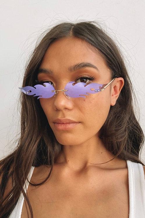 Flame glasses