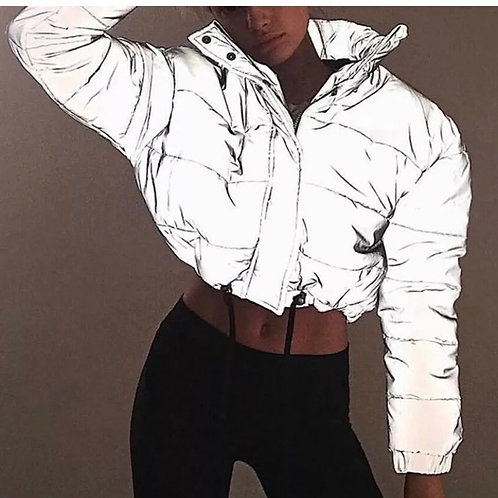 HOISEN reflective puffer jacket