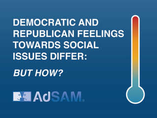Democratic and Republican Feelings Towards Social Issues Differ: But How?