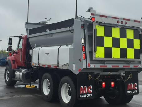 Winter Salt Truck