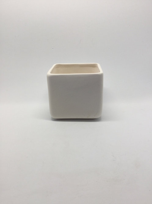 Pot square mini 6.3 x 6.9cm