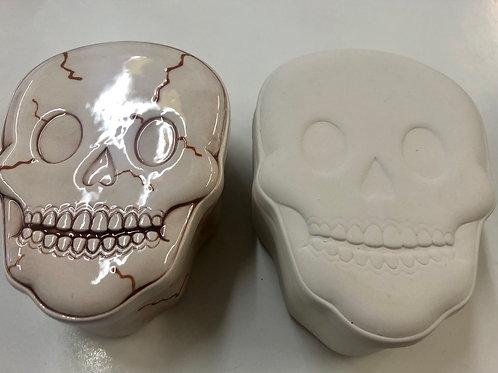 Skull pot 14cm x 5.5cm