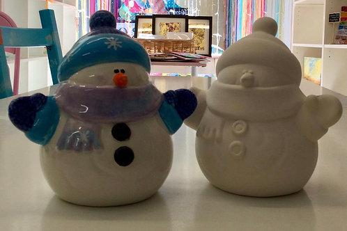 Snowman Large 14 x 15.9cm