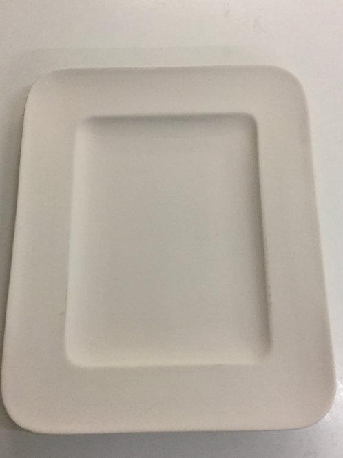 Platter Large rectangle Rimmed 30cm x 25cm