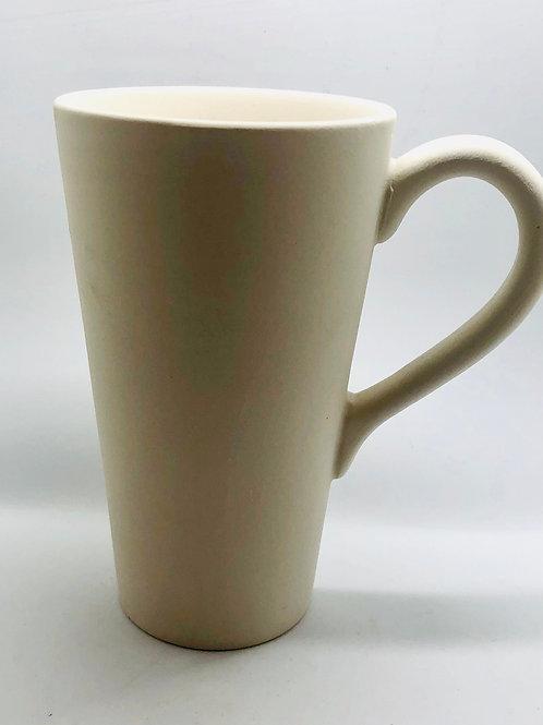 Mug Tall Cone 10.2cm x 11.4cm H
