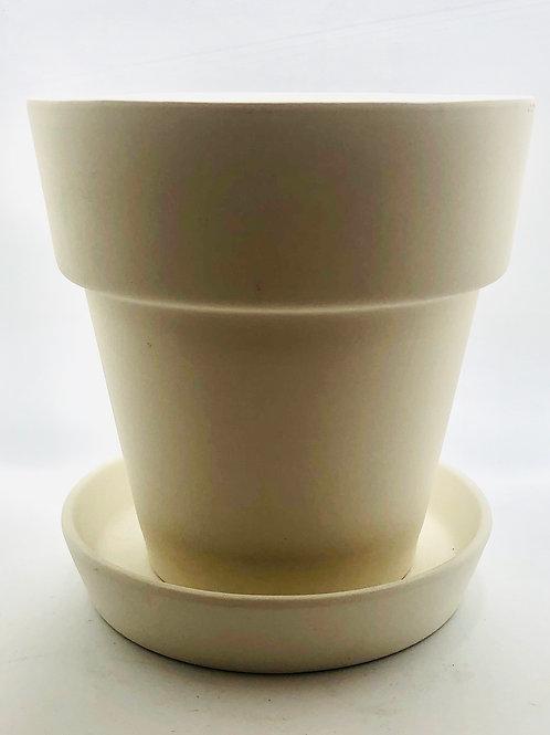 Flower Pot 15.2cm d x 15.2cm H
