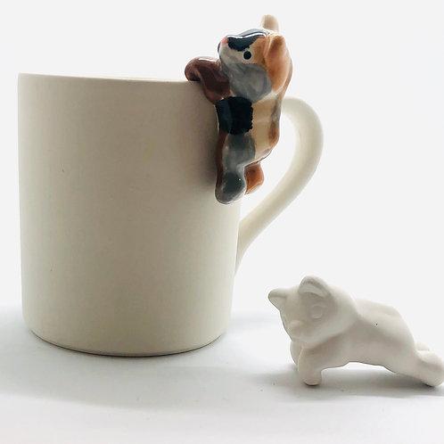 Cat Mini Mug Hugger 6.5cm
