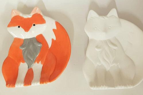 Fox Trinket 12cm x 14cm