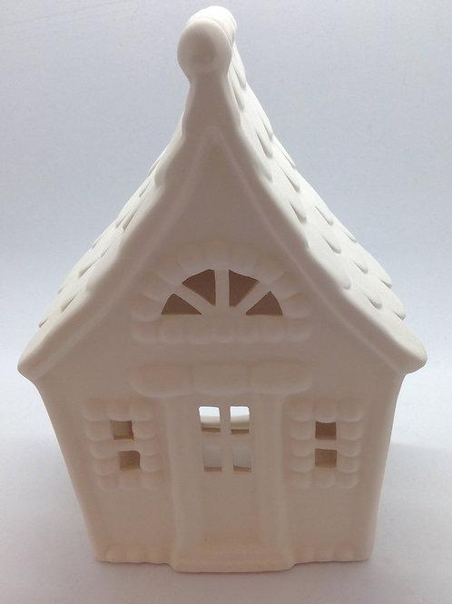 Gingerbread House Lantern 16.5cm x 12cm